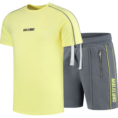 Foto van Malelions Twinset Thies Yellow Matt Grey