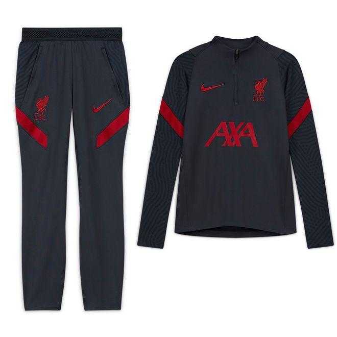 Afbeelding van Liverpool FC Strike Set Anthracite Kids Gym Red