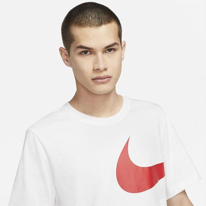 Afbeelding van Nike Sportswear T-Shirt White Red