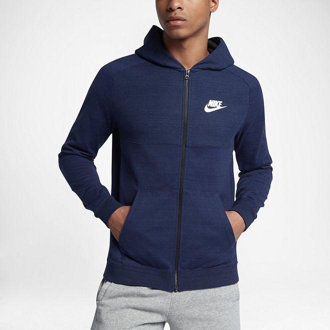 Afbeelding van Nike Sportswear Advance 15 Hoodie Blue Heather