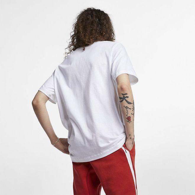 Afbeelding van Nike Sportswear Club T-Shirt White