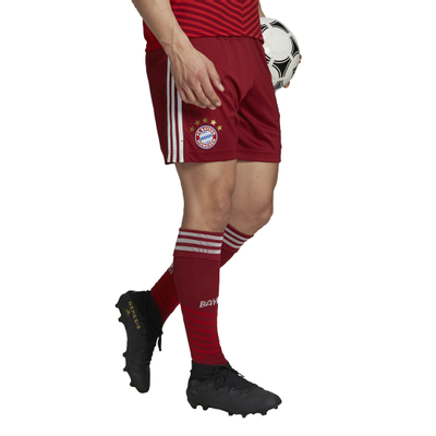 Foto van FC Bayern München Short Thuis Craft Red