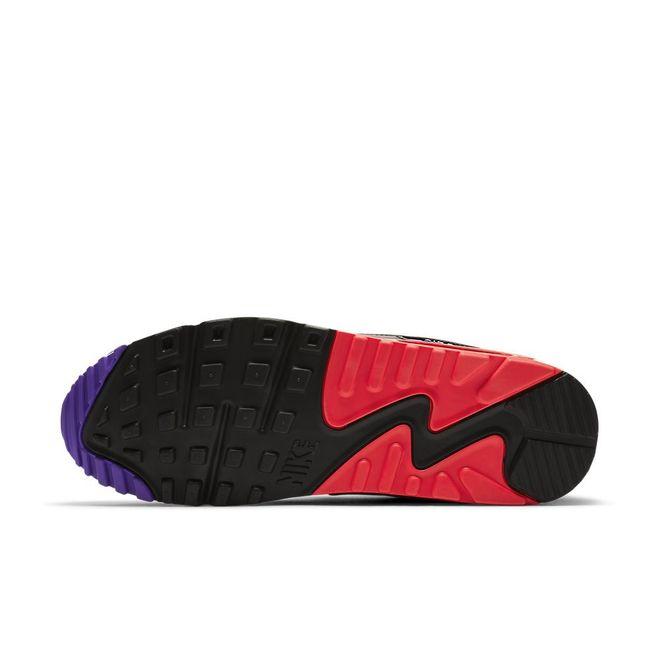 Afbeelding van Nike Air Max 90 Essential Wit-Rood-Paars