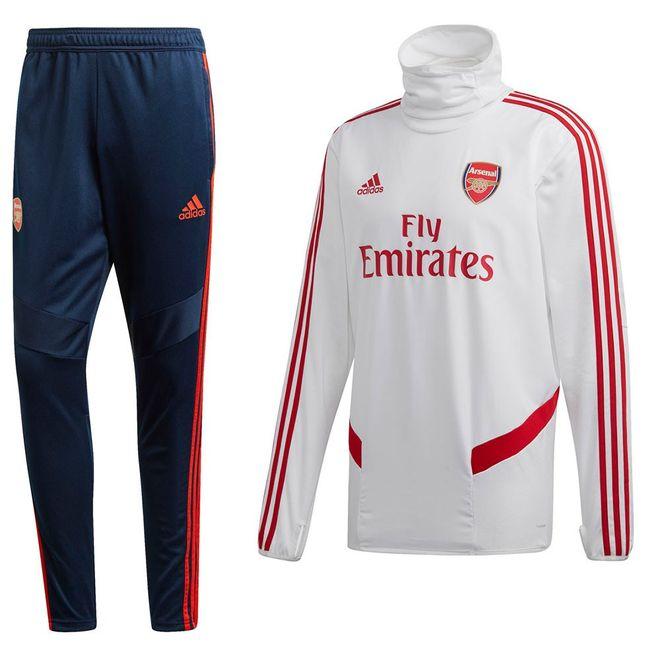 Afbeelding van Arsenal FC Warm-up Set White