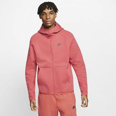 Foto van Nike Sportswear Tech Fleece Hoodie Pueblo Red