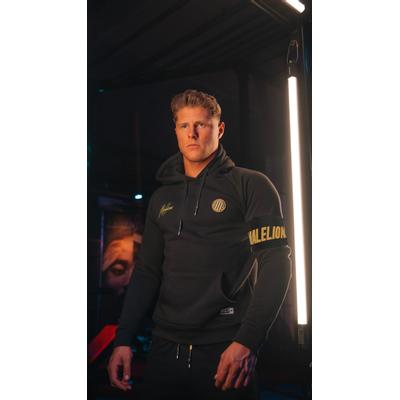 Foto van Malelions Sport Captain Tracksuit Black Gold