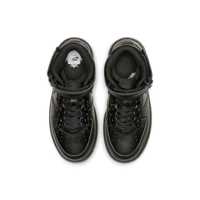 Foto van Nike Air Force 1 Mid Kids Black