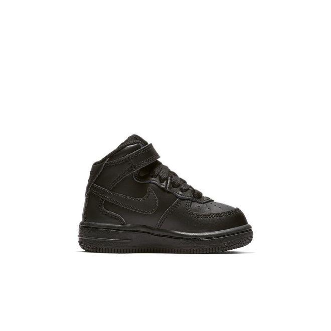 Afbeelding van Nike Air Force 1 Mid Kids Zwart