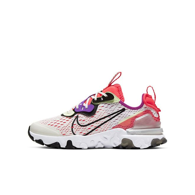 Afbeelding van Nike React Vision Kids White Black Crimson