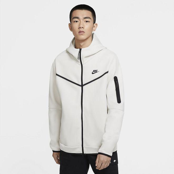 Afbeelding van Nike Sportswear Tech Fleece Hoodie Light Bone