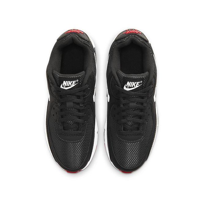 Afbeelding van Nike Air Max 90 Leather Kids Dark Smoke Grey
