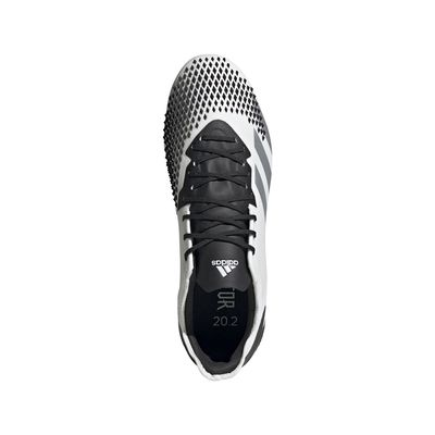 Foto van Adidas Predator 20.2 FG White Silver