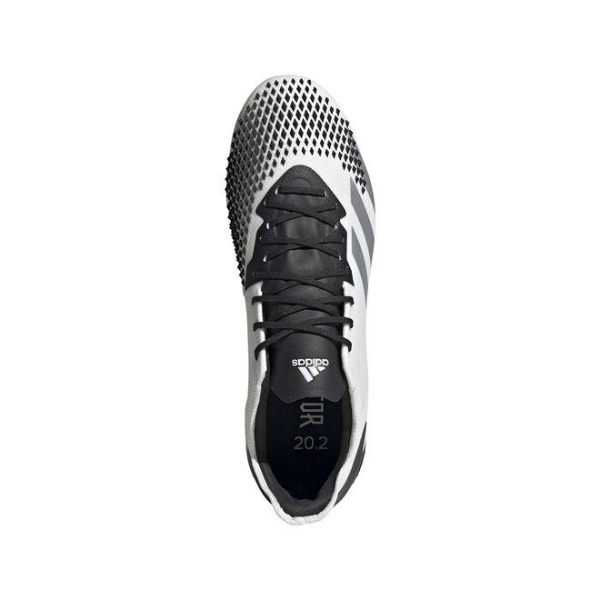 Afbeelding van Adidas Predator 20.2 FG White Silver