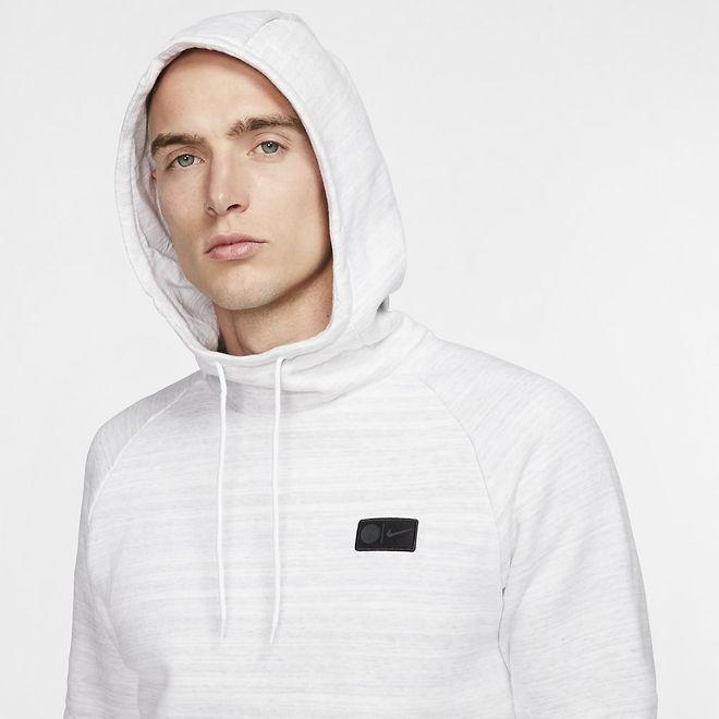 Afbeelding van Paris Saint-Germain Fleece Hoodie Set White
