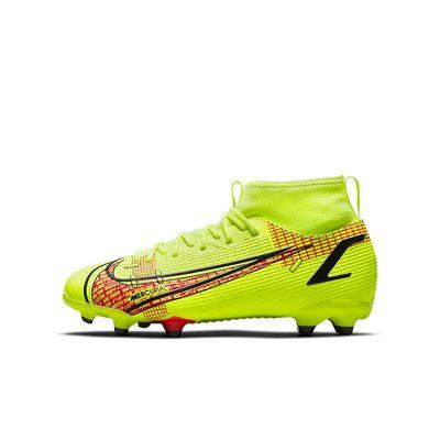 Foto van Nike Mercurial Superfly 8 Academy FG Kids Volt