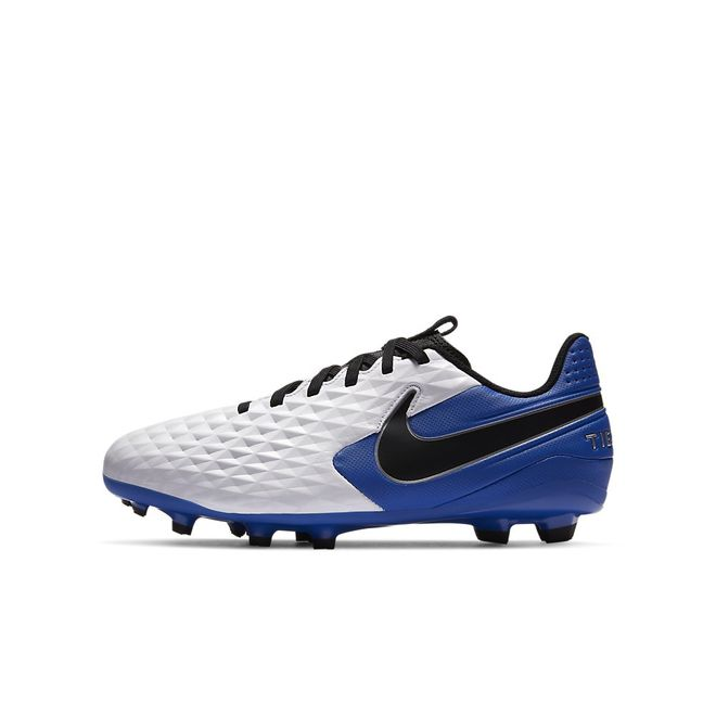 Afbeelding van Nike Legend 8 Academy FG Kids White Hyper Blue
