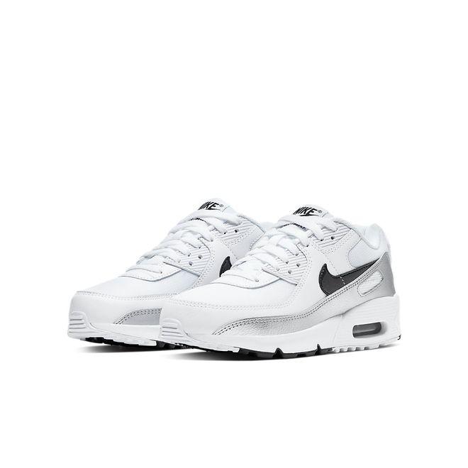 Afbeelding van Nike Air Max 90 Kids White Black
