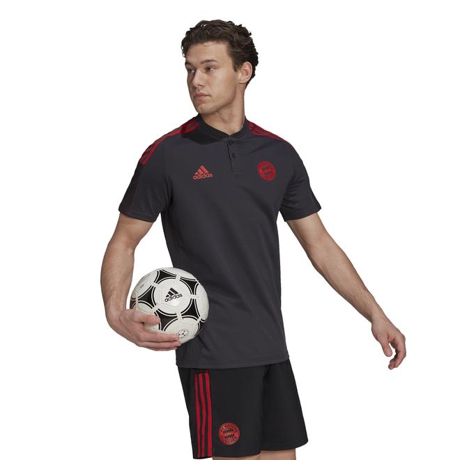 Afbeelding van FC Bayern München Polo Set Black Night Grey