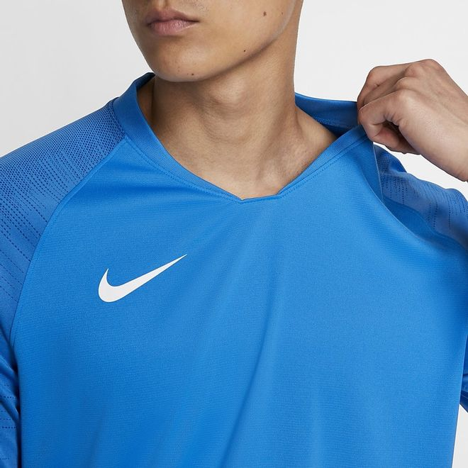 Afbeelding van Nike Breathe Strike Top Black Lite Photo Blue