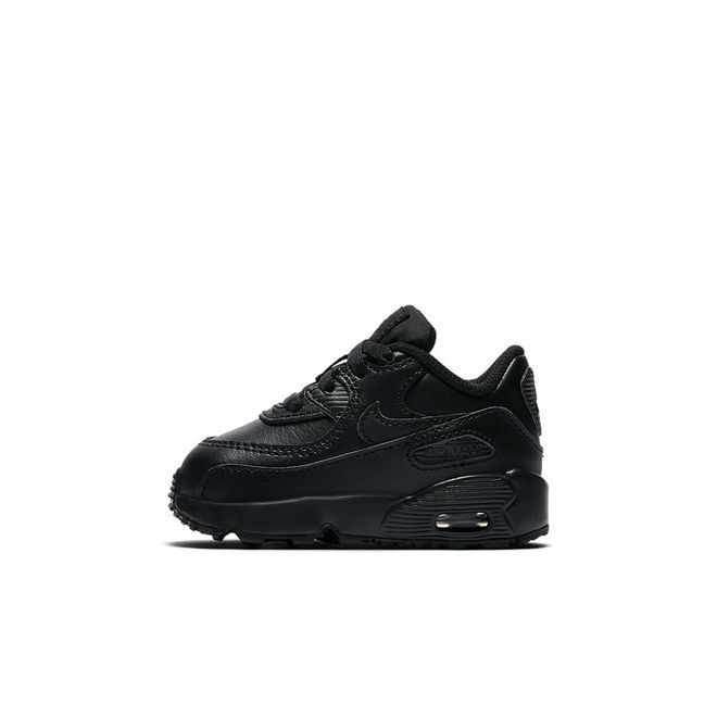 Afbeelding van Nike Air Max 90 Leather Infants Black