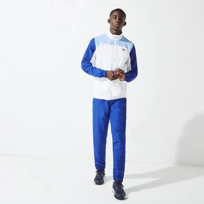 Foto van Lacoste Sport Trainingspak Blauw Wit