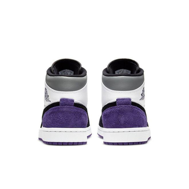 Afbeelding van Nike Air Jordan 1 White Black Purple