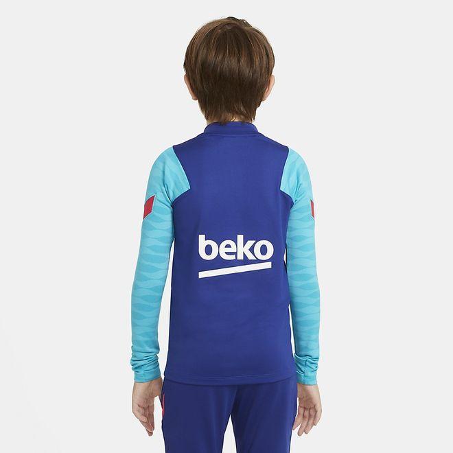 Afbeelding van FC Barcelona Strike Set Kids Deep Royal Blue