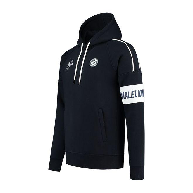 Afbeelding van Malelions Sport Coach Hoodie Set Navy White