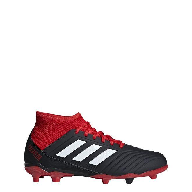 Afbeelding van Adidas Predator 18.3 FG Kids Zwart-Rood
