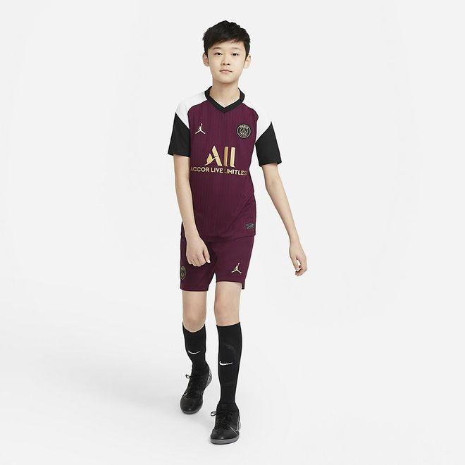Afbeelding van Paris Saint-Germain 2020/21 Stadium 3e Voetbalshort voor Kids