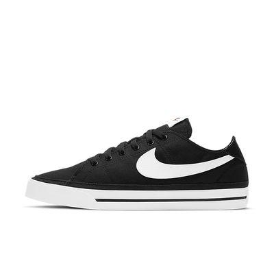 Foto van Nike Court Legacy Canvas Black White