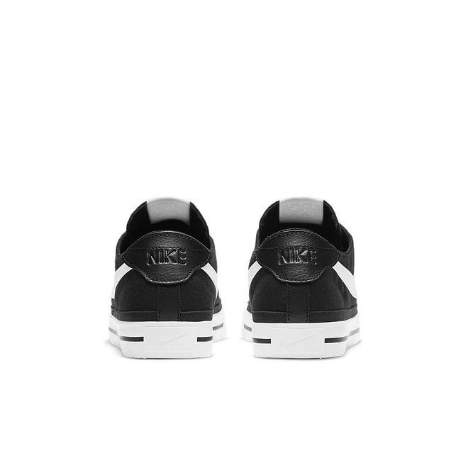 Afbeelding van Nike Court Legacy Canvas Black White