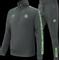 Afbeelding van Malelions Sport Quarterzip Tracksuit Antra Neon Green