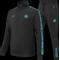 Afbeelding van Malelions Sport Quarterzip Tracksuit Black/Blue