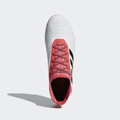 Foto van Adidas Predator 18.2 FG Wit