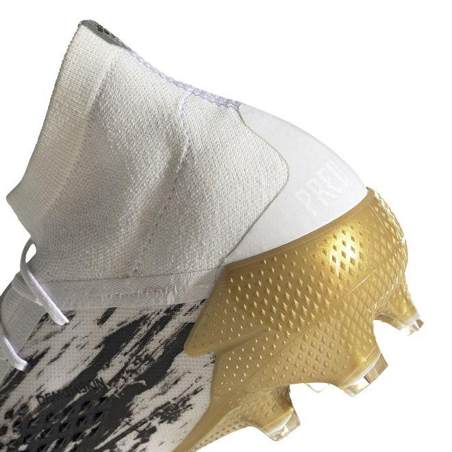 Afbeelding van Adidas Predator Mutator 20.1 FG Core White Gold
