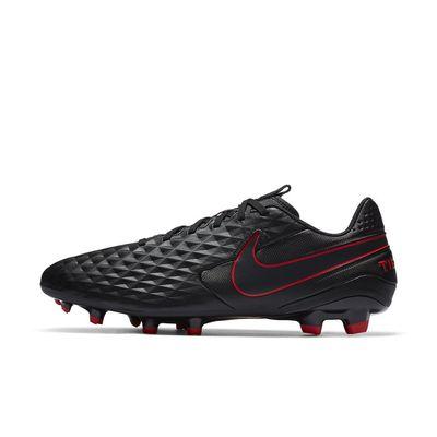 Foto van Nike Legend 8 Academy FG Black Smoke Grey