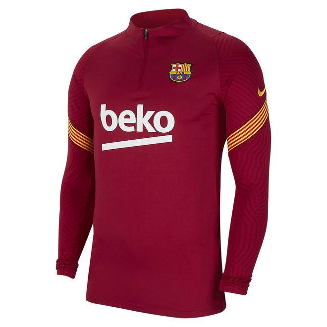 Afbeelding van FC Barcelona Dri-FIT Strike Drill Set Noble Red