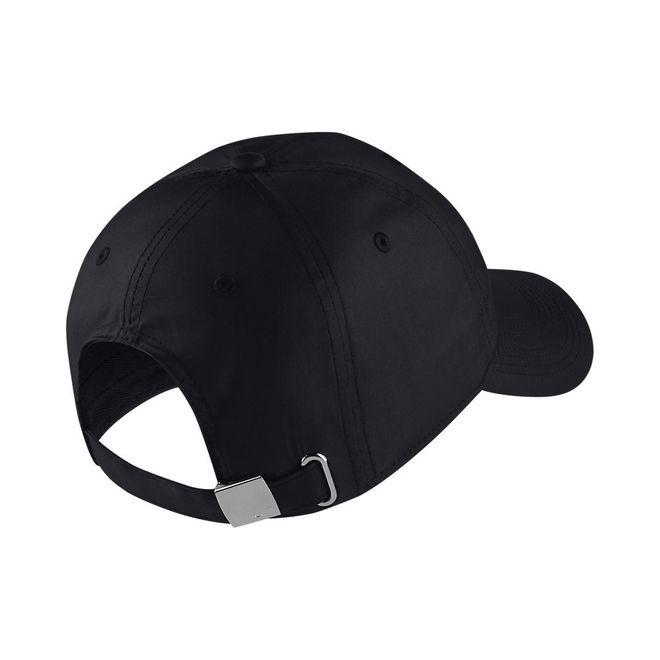 Afbeelding van Nike Metal Swoosh H86 Cap Zwart