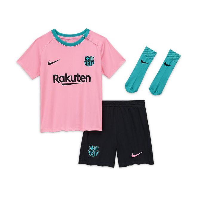 Afbeelding van FC Barcelona 2020/21 Stadium Derde Minikit Infants Pink