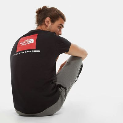 Foto van The North Face Redbox T-Shirt Medium Black