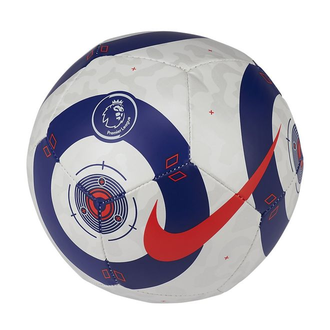 Afbeelding van Nike Premier League Strike Mini Voetbal White Blue Laser Crimson