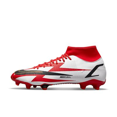 Foto van Nike Mercurial Superfly 8 Academy CR 7 FG/MG Chile Red