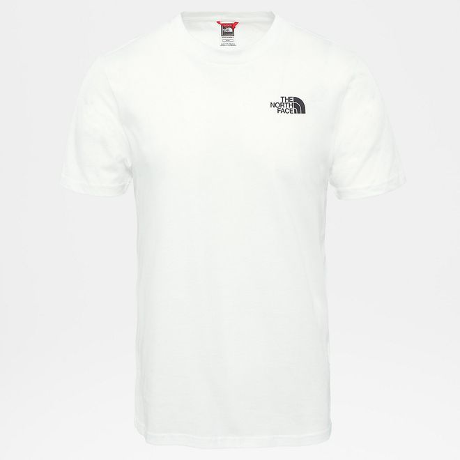 Afbeelding van The North Face Simple Dome T-Shirt Medium White