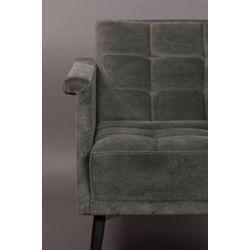 Dutchbone Sir William Lounge Chair Vintage Grey