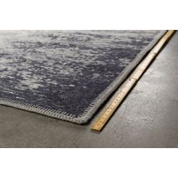 Dutchbone Caruso Vloerkleed Distressed Blue - 170 x 240 CM
