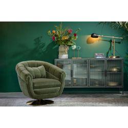 Dutchbone Member Lounge Chair Olijfgroen