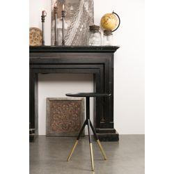 Dutchbone Side Table Elia Black/Brass