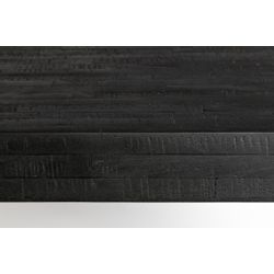 White Label Living Table Suri 160X78 Black