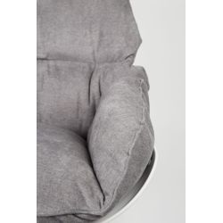 White Label Living Lounge Chair Rocky Light